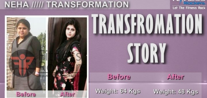 Neha Transformation, How I lost 15 kgs