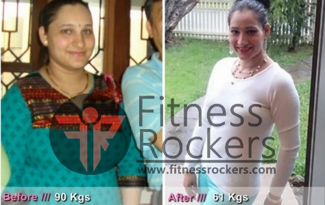 Jyoti Transformation, How I lost 30 kgs