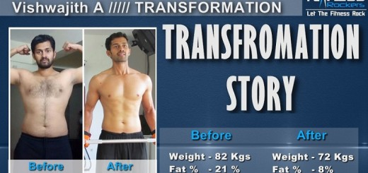 Weight Loss Transformation Story - Vishwajith A
