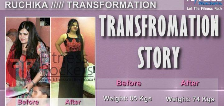 Weight Loss Transformation Story-Ruchika Chaudhary