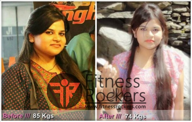 Weight Loss Transformation Story-Ruchika Chaudhary