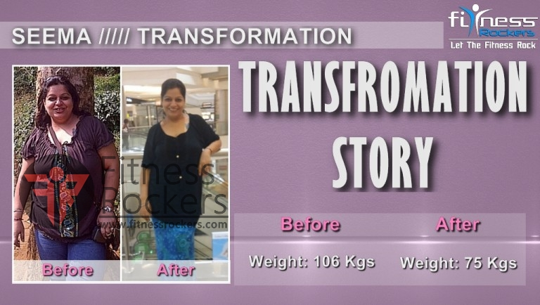 Transformation Story Zumba Weight Loss by Sudipta - Seema Bhavnani