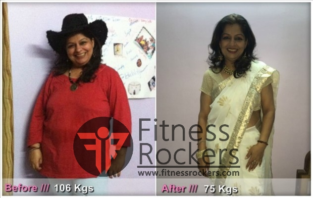 Transformation story - Seema, How I lost 31 kgs weight, India