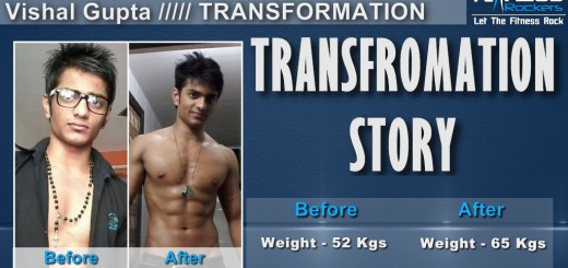 Indian Transformation Story How I gained muscle & weight - Vishal Gupta