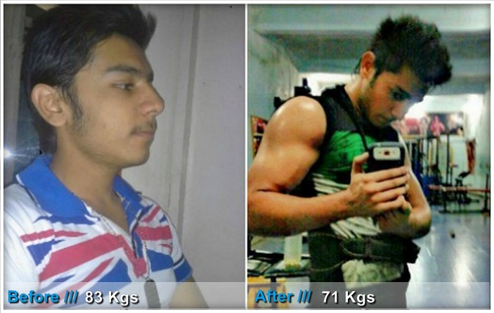 Indian Transformation Story How I gained muscle & lost weight - Yash Drj