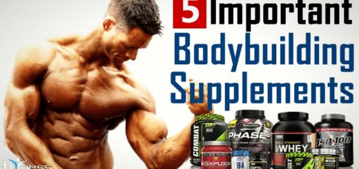 5 essential & best bodybuilding supplements to gain muscle fast