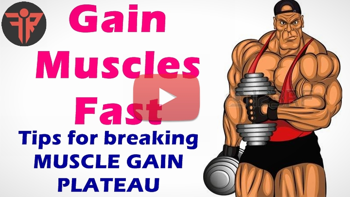 How to gain muscles_Break Muscle gain plateau