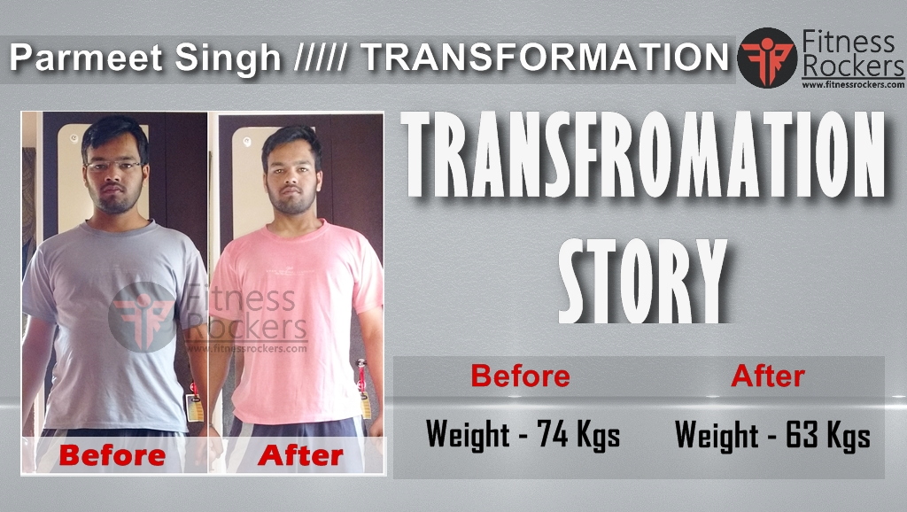 Indian Transformation Story How I gained muscle & lost weight - Parmeet Singh